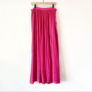 Anthropologie Akemi + Kin | Pink Paros Maxi Skirt